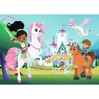 "Ravensburger (05553) - ""Nella the Princess Knight"" - 24 pieces puzzle"