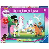 "Ravensburger (05553) - ""Nella the Princess Knight"" - 24 pieces puzzle"