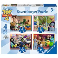 """Ravensburger (06833) - """"Toy Story 4"""" - 12 16 20 24 pieces puzzle"""