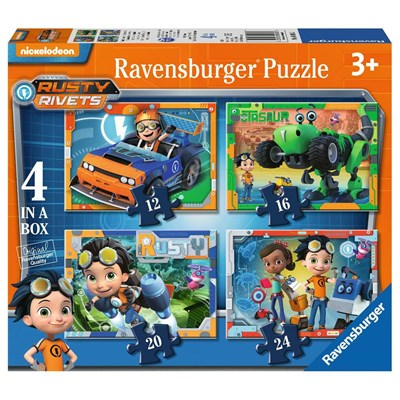 "Ravensburger (06983) - ""Rusty Rivets"" - 12 16 20 24 pieces puzzle"