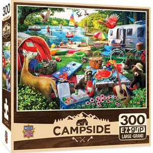 """MasterPieces (31900) - Larry Jones: """"Little Rascals"""" - 300 pieces puzzle"""