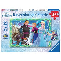 "Ravensburger (07621) - ""Frozen"" - 12 pieces puzzle"