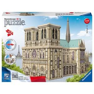 """Ravensburger (12523) - """"Notre Dame, France"""" - 324 pieces puzzle"""