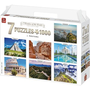 "King International (55877) - ""7 Wonders of The World"" - 1000 pieces puzzle"