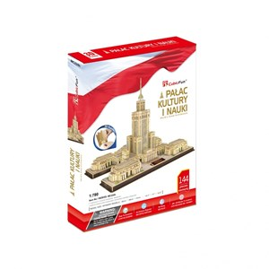 "Cubic Fun (MC224H) - ""Palace of Culture and Science"" - 144 pieces puzzle"