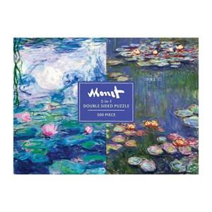 """Chronicle Books / Galison (9780735358133) - Claude Monet: """"Monet"""" - 500 pieces puzzle"""