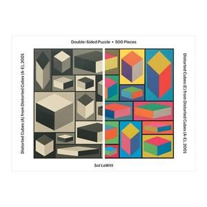 "Chronicle Books / Galison (9780735357884) - ""Sol Lewitt"" - 500 pieces puzzle"