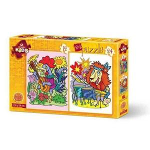 "Art Puzzle (4490) - ""Musician Animals"" - 12 24 pieces puzzle"