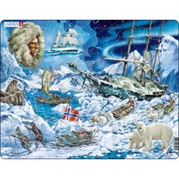"Larsen (NB7) - ""Fram-Towards the North Pole"" - 65 pieces puzzle"