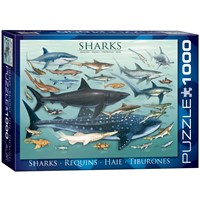 "Eurographics (6000-0079) - ""Sharks"" - 1000 pieces puzzle"