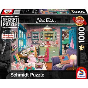 "Schmidt Spiele (59653) - Steve Read: ""Grandmother´s room"" - 1000 pieces puzzle"