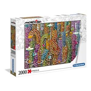 """Clementoni (32565) - Guillermo Mordillo: """"The Jungle"""" - 2000 pieces puzzle"""