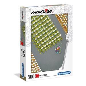 """Clementoni (35078) - Guillermo Mordillo: """"The March"""" - 500 pieces puzzle"""