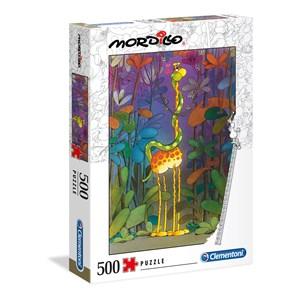 """Clementoni (35079) - Guillermo Mordillo: """"The Lover"""" - 500 pieces puzzle"""