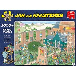 """Jumbo (20023) - Jan van Haasteren: """"The Art Market"""" - 2000 pieces puzzle"""