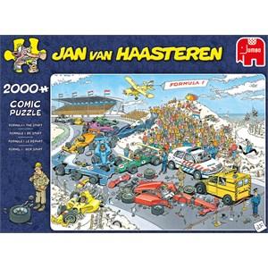 """Jumbo (19097) - Jan van Haasteren: """"Grand Prix"""" - 2000 pieces puzzle"""