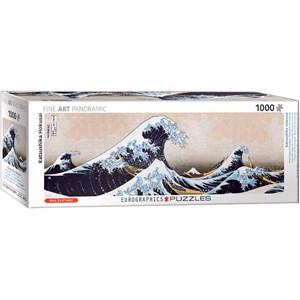 """Eurographics (6010-5487) - Hokusai: """"Great Wave of Kanagawa"""" - 1000 pieces puzzle"""