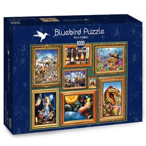 """Bluebird Puzzle (70230) - """"Boy's 8 Gallery"""" - 6000 pieces puzzle"""