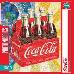 "Buffalo Games (11273) - Robert Silvers: ""Coca-Cola, of Course!"" - 1000 pieces puzzle"