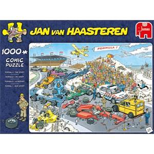 """Jumbo (19093) - Jan van Haasteren: """"Grand Prix"""" - 1000 pieces puzzle"""