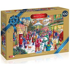 "Gibsons (G2019) - Tony Ryan: ""Secret Santa"" - 1000 pieces puzzle"