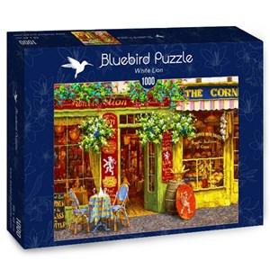 """Bluebird Puzzle (70062) - Viktor Shvaiko: """"White Lion"""" - 1000 pieces puzzle"""