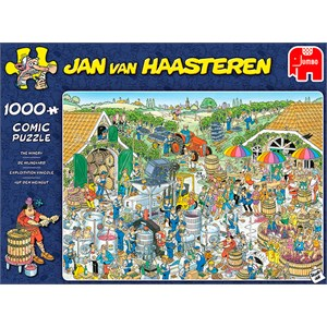 """Jumbo (19095) - Jan van Haasteren: """"The Winery"""" - 1000 pieces puzzle"""