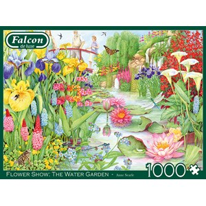 "Buffalo Games (11282) - ""Flower Show, The Water Garden"" - 1000 pieces puzzle"