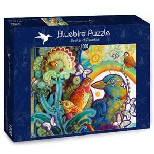 "Bluebird Puzzle (70297) - David Galchutt: ""Basket of Paradise"" - 1000 pieces puzzle"