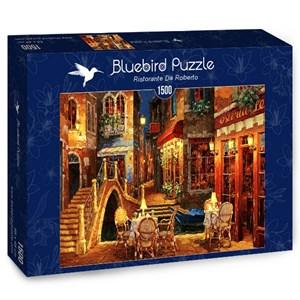"Bluebird Puzzle (70213) - Viktor Shvaiko: ""Ristorante Da Roberto"" - 1500 pieces puzzle"