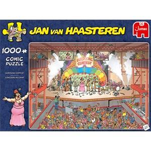 """Jumbo (20025) - Jan van Haasteren: """"Eurosong Contest"""" - 1000 pieces puzzle"""