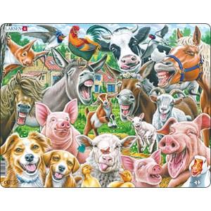 """Larsen (CZ1) - """"Happy Farm Selfie"""" - 33 pieces puzzle"""