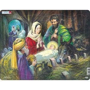 """Larsen (C4) - """"Jesus in the Manger"""" - 33 pieces puzzle"""