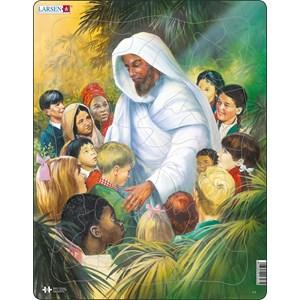 "Larsen (C5) - ""Jesus with the Kids"" - 33 pieces puzzle"