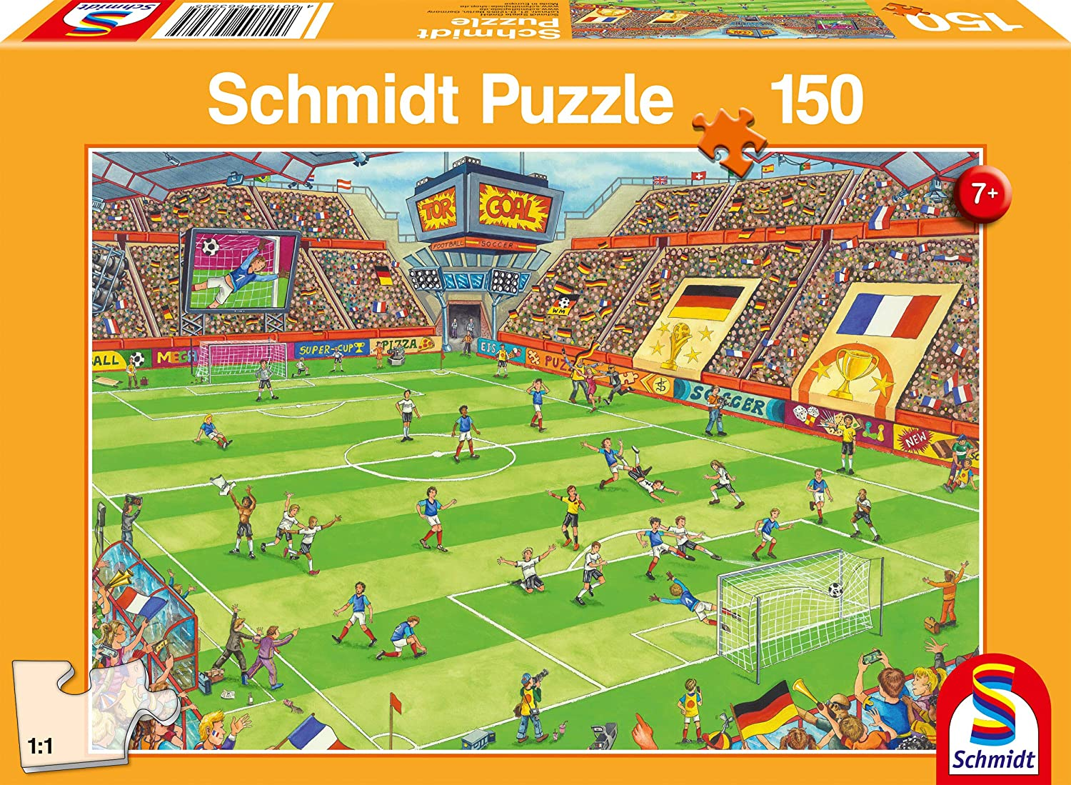 large piece football puzzle