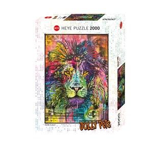 """Heye (29894) - Dean Russo: """"Lion's Heart"""" - 2000 pieces puzzle"""