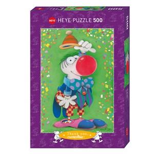 "Heye (29911) - Guillermo Mordillo: ""Thank You!"" - 500 pieces puzzle"
