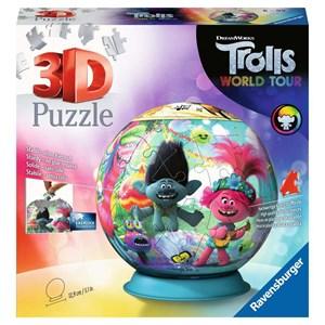 """Ravensburger (11169) - """"Trolls 2, World Tour"""" - 72 pieces puzzle"""