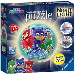 """Ravensburger (11837) - """"PJ Masks"""" - 72 pieces puzzle"""
