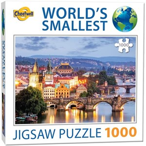 "Cheatwell Games (13992) - ""Prague Bridges"" - 1000 pieces puzzle"