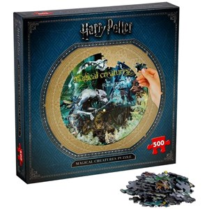 "Winning Moves Games (2473) - ""Harry Potter, Magical Creatures"" - 500 pieces puzzle"