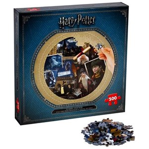 "Winning Moves Games (002480) - ""Harry Potter and the Philosopher's Stone"" - 500 pieces puzzle"