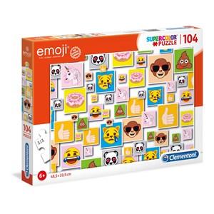 "Clementoni (27285) - ""Emoji"" - 104 pieces puzzle"