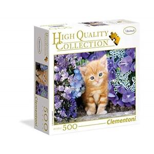 """Clementoni (95977) - """"Ginger Cat"""" - 500 pieces puzzle"""