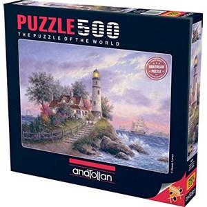 """Anatolian (3570) - Dennis Lewan: """"Anatolian Captain's Cove"""" - 500 pieces puzzle"""