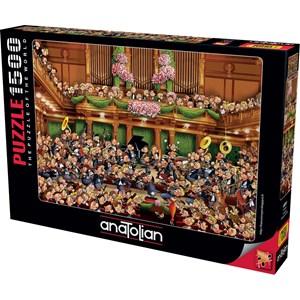 """Anatolian (4551) - François Ruyer: """"Concert"""" - 1500 pieces puzzle"""