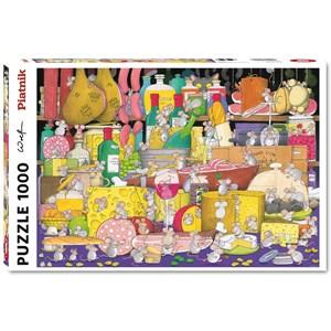 """Piatnik (5499) - """"Mouse Party"""" - 1000 pieces puzzle"""