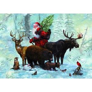 """Piatnik (5515) - """"Santa's Team"""" - 1000 pieces puzzle"""