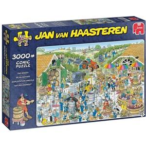 """Jumbo (19198) - Jan van Haasteren: """"The Winery"""" - 3000 pieces puzzle"""