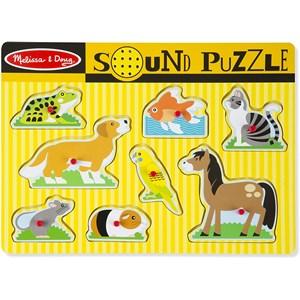 "Melissa and Doug (10730) - ""Pets"" - 8 pieces puzzle"
